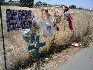 A Memorial in West Sacramento, CA