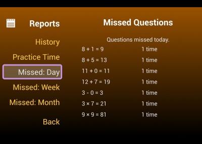 Reports Screen