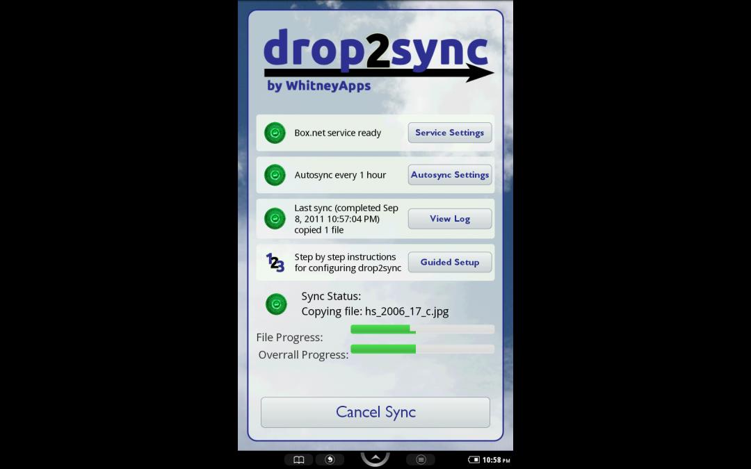 drop2sync