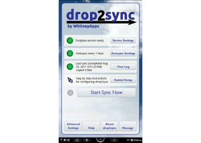 Main Screen (Dashboard)